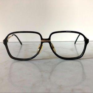 👓Rare Vintage 80's Dunhill Eyeglasse Frames Black